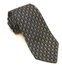 Authentic GUCCI 100% Silk Tie Bridle Bits! Made in Italy A Classic!