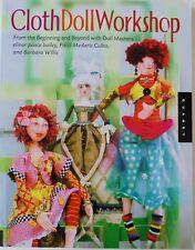 Cloth Doll Workshop Elinor Peache Bailey Culea Willis Sewing Pattern Book