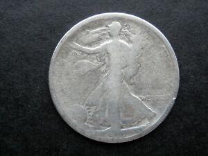 HALF DOLLAR AÑO 1917 - USA  MEDIO DOLAR DE PLATA