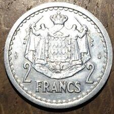 PIECE DE 2 FRANCS MONACO SANS DATE 1943 (553)