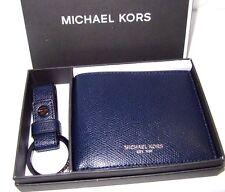 9a8d947e5ed6e7 Michael Kors Men's Slim Billfold Wallet & Key Fob Set Gift ...