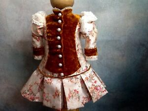 Wonderful dress for a doll 16-18 inches