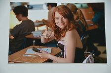 Emma Stone signed 20x30cm Easy A  Foto Autogramm / Autograph In Person