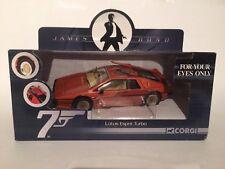 Corgi CC04704 James Bond Car Lotus Esprit Turbo For Your Eyes Only 1:36 Mint