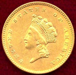1854 G$1 Type 2 - Gold Dollar++