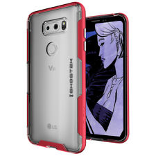 LG V30 Case | Ghostek CLOAK Ultra Slim Clear Shockproof Dual Layer Armor Bumper