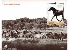 "Portugal - ""LUSITANO HORSES"" MNH Miniature Sheet MS 2009 !"