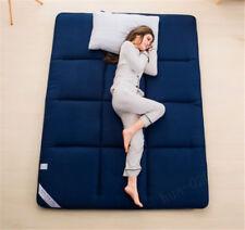 Solid Giant Large Warm Foldable Deep Blue Sleep Bedroom Tatami Sponge Mattress