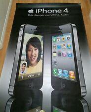 Apple IPhone 4 Poster Banner 6.5 feet tall x 4 feet wide rare