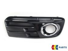 NEW GENUINE AUDI Q5 2013-2016 FRONT O/S RIGHT BUMPER GRILL FOG LIGHT BLACK