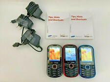 3x VERIZON Samsung (Intensity II and I) Phone QWERTY SCH-U460 SCH-U450 Working