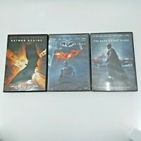 Batman - The Dark Knight DVD Trilogy Christopher Nolan DVD Christian Bale