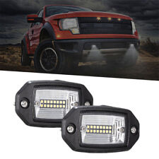 4 INCH 48W LED Light Bar Flush Mount Fog DRL Reverse Lamps Offroad Truck SUV 2x