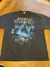 Avenged Sevenfold Graphic Shirt Sz XL