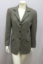 MALO 100% CASHMERE JACKET GREY WOMENS FOR TRILLION PALM BEACH SIZE 44