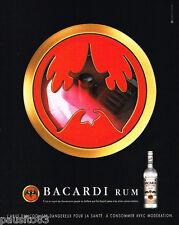 PUBLICITE ADVERTISING 085  2004  le RHUM BACCARDI 2