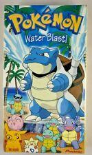Rare Vintage Pokémon VHS Vol. 18: Water Blast (2000) - Sealed - Free Shipping!