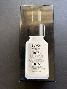NYX Professional Makeup Total Control Drop Foundation TCDF03 Porcelain Tested