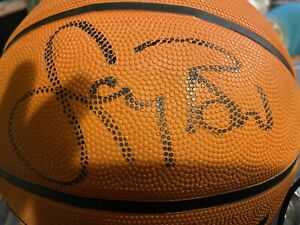 LARRY BIRD AUTOGRAGHED /SIGNED BASKETBALL - WITH COA- BOSTON CELTICS MVP