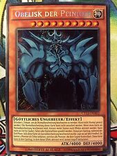 Obelisk der Peiniger CT13-DE002 Secret Yu-Gi-Oh! Götter Karte Monster DEUTSCH NM