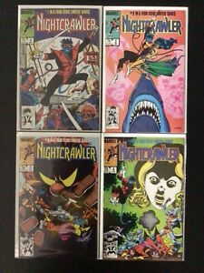 4 Issue Lot - Nightcrawler Limited Series 1 2 3 4 X-Men