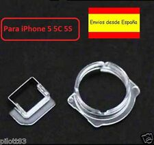PLASTICO SOPORTE CAMARA DE FOTOS DELANTERA Y SENSOR PROXIMIDAD IPHONE 5 5C 5S