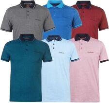 ✅👕 PIERRE CARDIN Herren Polo Shirt Freizeit S-3XL Sommer Hemd Kragen TShirt PIN