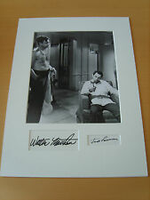The Odd Couple Genuine Autographs - UACC / AFTAL.