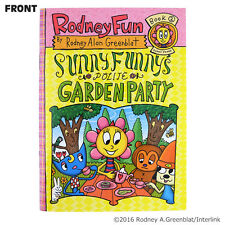 Sunny Funny A6 Notebook - Official PaRappa The Rapper Rodney Greenblat Japan New