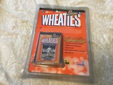 Collector Babe Ruth Wheaties 24k Gold Signature Mini Box-75 Years Of Champions