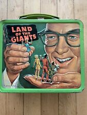 Vintage 1968 Land Of The Giants Metal Lunchbox Lunch Box,Kent,Aladdin,20th Cent.
