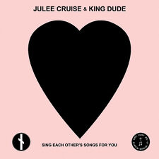 """Julee Cruise & King Dude - Sing Each Other's Songs For You 7"""" LP - White Vinyl"""