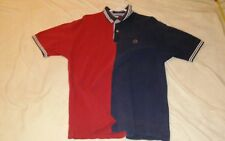 tommy hilfiger color block vintage polo lg