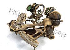"8""  Nautical Sextant Vintage Marine Astrolabe Ship Working Antique Instrument."