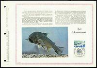 FRANCE CEF 1972 FISCHE LACHS SALMON SAUMON FISH LTD. ONLY 1.500 MADE !!! z2159