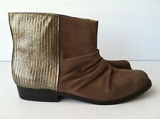 Joe's Women's Suede Fashion Ankle Boots Size 9.5 M Brown $189