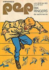 PEP 1972  nr. 08 - RIK RINGERS / BLUE MINK / COMICS