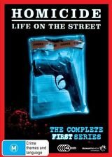 C10 BRAND NEW SEALED Homicide - Life On The Street Series 1 (DVD, 2009, 4-Disc)