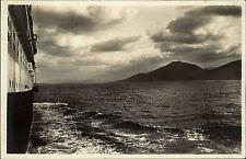Norwegen Norge AK ~1920/30 Schiffsausblick skip Meer hav Blick auf Küste kyst