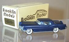 BROOKLIN MODELS 11 1956 LINCOLN CONTINENTAL COUPE BLUE BOXED mq