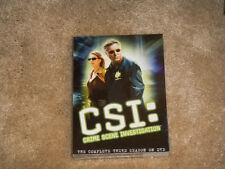 CSI: Crime Scene Investigation - The Complete Third Season DVD NEW SEALED