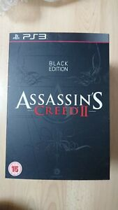 Assassins Creed 2  Black Edition PS3 Limited Collectors edition