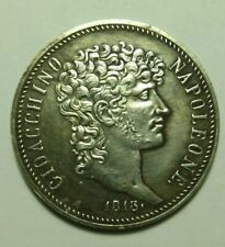 5 lire coin 1813 Italy Napoleon