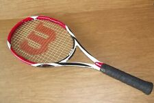 Wilson (K) Factor Bold 100 sq in 4 3/8 Tennis Racquet Super Free Shipping