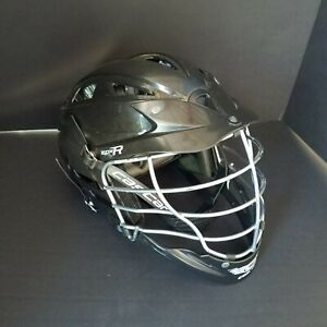 Cascade CPX-R Lacrosse Black Helmet w/ Chrome Mask & Chin Strap One Size