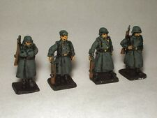 SGTS MESS G23 1/72 Diecast WWII German Sentries in Greatcoats (4 Figures)