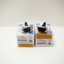 BMW 7 E38 Headlight Washer Nozzles Pair 61678352896 61678352895 NEW OEM
