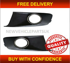 VW TOURAN 2010-2015 FRONT BUMPER FOG GRILLE PAIR LEFT & RIGHT NEW HIGH QUALITY