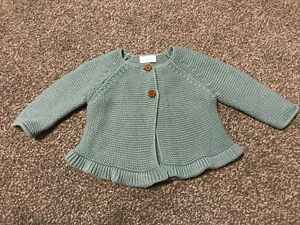 Next Baby Girls Age 3-6 Months Cardigan
