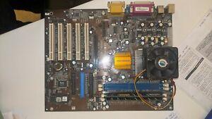 Elitegroup K7S5A Motherboard + AMD Athlon XP 2000+ 512mb Ram XP DOS Retro Game